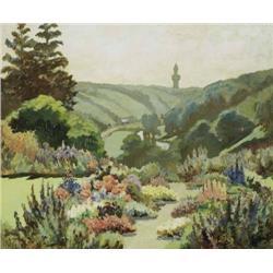 Letitia Marion Hamilton RHA (1878-1964) A GARDEN