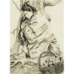 Seán Keating PRHA HRA HRSA (1889-1977) A WOMAN WI