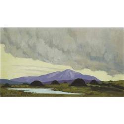 Paul Henry RHA (1876-1958) THREATENING RAIN, circ
