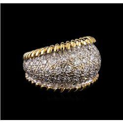 2.00 ctw Diamond Ring - 14KT Yellow Gold