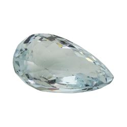 5.48 ct. Natural Pear Cut Aquamarine