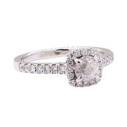 1.52 ctw Diamond Ring - 18KT White Gold