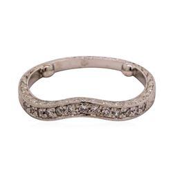 0.15 ctw Diamond Ring - Platinum