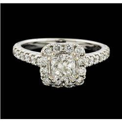 14KT White Gold 1.54 ctw Diamond Ring