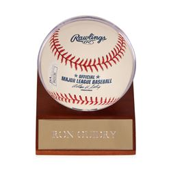 Ron Guidry Autographed Baseball