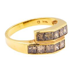 1.65 ctw Diamond Ring - 14KT Rose Gold