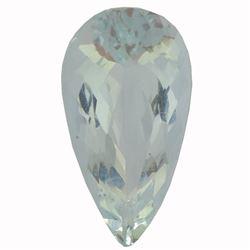 7.63 ctw Pear Aquamarine Parcel