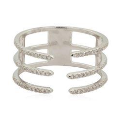 0.22 ctw Diamond Ring - 14KT White Gold