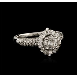18KT White Gold 1.53 ctw Diamond Ring