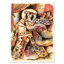 Venus Et Arlequin by Tobiasse (1927-2012)