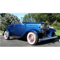 1932 Ford Full Fendered Sport Roadster