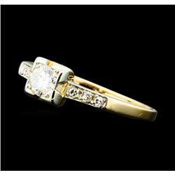 0.50 ctw Diamond Ring - 14KT Yellow Gold