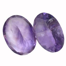 30.28 ctw Oval Amethyst Parcel