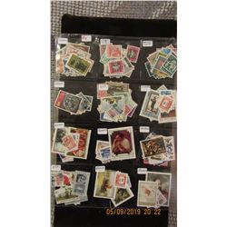 WORLD STAMP COLLECTION FROM TEN DIFFERENT COUNTRIES