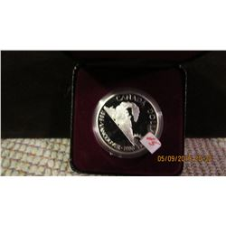 1986 CANADA PROOF TRAIN SILVER DOLLAR