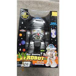 NEW - MR. ROBOT DISC SHOOTER