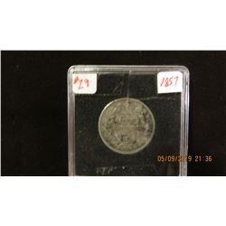 1857 VICTORIAN SCHILLING