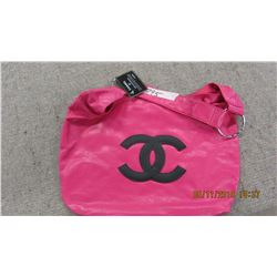 NEW - PINK CHANNEL STYLE PURSE