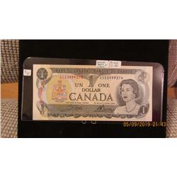 1973 BANK OF CANADA $1 BILL