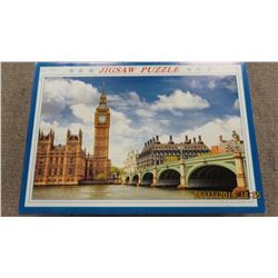 """LIKE NEW - 1000 PIECE """"CLOCK TOWER"""" PUZZLE"""