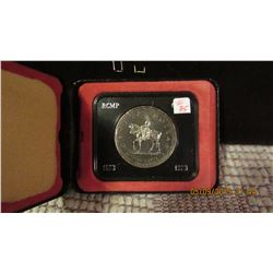 1973 RCMP PROOF CASED CANADA SILVER DOLLAR