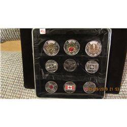 CANADA MEMORIAL SCARCE UNCIRCULATED COIN SET