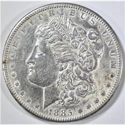 1885-S MORGAN DOLLAR AU/BU CLEANED