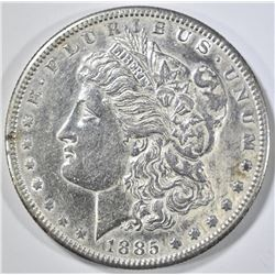 1885-S MORGAN DOLLAR AU/BU CLEANED