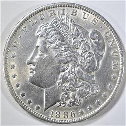 1886-O MORGAN DOLLAR AU/BU