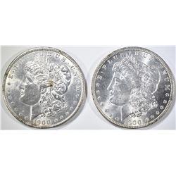 1900-P,O MORGAN DOLLARS CH BU