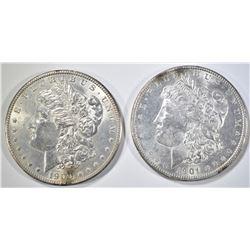 1900, 01-O MORGAN DOLLARS CH BU
