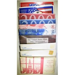U.S UNCIRCULATED SET LOT:
