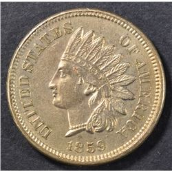1859 INDIAN HEAD CENT  CH UNC