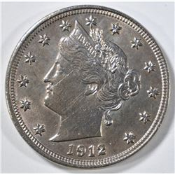 1912 LIBERTY HEAD NICKEL  CH BU