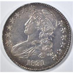 1831 CAPPED BUST HALF DOLLAR  CH ORG UNC