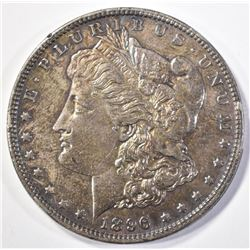 1896 MORGAN DOLLAR   UNC  COLOR