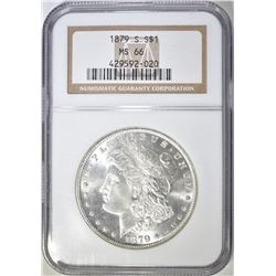1879-S MORGAN DOLLAR  NGC MS-66
