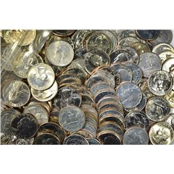 $60.00 FACE VALUE MIXED BU QUARTERS, 1974-79