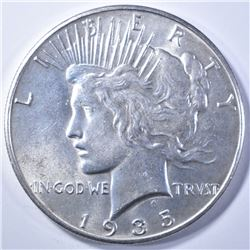 1935 PEACE DOLLAR   GEM BU