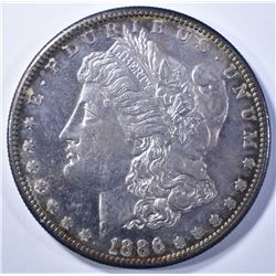 1886-S MORGAN DOLLAR   CH BU  PROOF LIKE