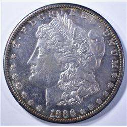 1886-S MORGAN DOLLAR   CH BU  PROOF LIKE