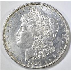 1878 7 TF REV 79 MORGAN DOLLAR CH BU