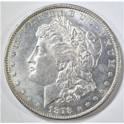1878 7 TF REV 79 MORGAN DOLLAR CH BU