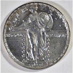 1919-D STANDING LIBERTY QUARTER, CH BU++ RARE!!