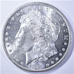 1891-CC MORGAN DOLLAR CH BU GREAT LLUSTER