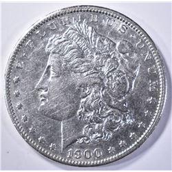 1900-S MORGAN DOLLAR AU