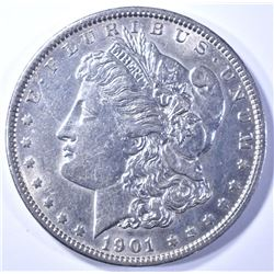 1901 MORGAN DOLLAR AU/BU