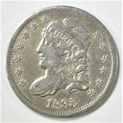 1835 CAPPED BUST HALF DIME, XF