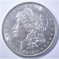 1878 7/8TF MORGAN DOLLAR  BU