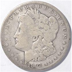 1892-CC MORGAN DOLLAR   GOOD